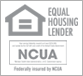 NCUA - Equal Housing Lender